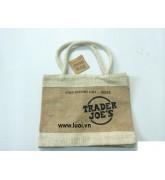 Túi  bố Trader joe's (TUI BO DANG CO CHUONG TRINH KHUYEN MAI LON MUA 10 TANG 1)
