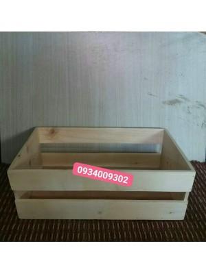 Thùng gỗ đựng quà giá rẻ
