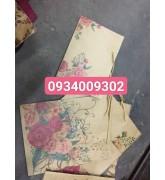 Túi giấy in hoa mẫu đơn đựng quà tặng giá rẻ