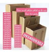 Sản xuất túi giấy kraft giá rẻ