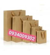 Túi giấy xi măng có quai giá rẻ
