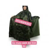 Áo mưa cánh dơi lính dù