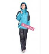 Áo mưa bộ 2 lớp giá rẻ