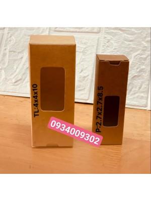 Hộp giấy kraft đựng tinh dầu 30ml