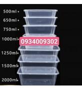Hộp nhựa chữ nhật đựng thức ăn giá rẻ