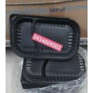 Hộp nhựa đế đen 2 ngăn giá rẻ