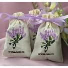 Túi vải cotton dây rút (túi thơm)