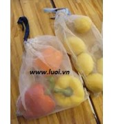 Túi lưới vải đựng trái cây 01