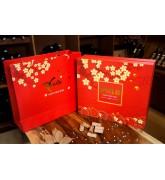 Bộ hộp giấy túi giấy đựng quà tết giá rẻ