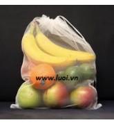 Túi lưới vải đựng trái cây 03