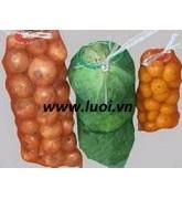 Túi lưới đựng tỏi-trái cây