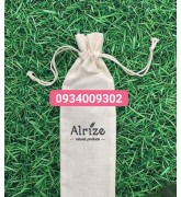 Túi vải cotton đựng bình nước giá rẻ