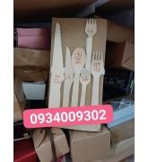 Dao-muỗng-nĩa-đũa-ống hút gỗ