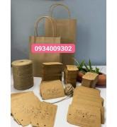 Túi giấy quai giấy có nhiều size giá rẻ