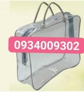 Túi nhựa pvc có dây kéo giá rẻ