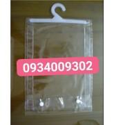 Túi nhựa pvc có móc treo giá rẻ