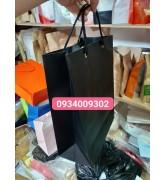 Túi giấy màu đen giá rẻ