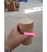 Lon gỗ đựng cafe giá rẻ
