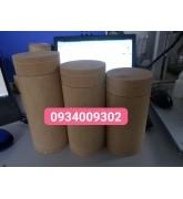 Hộp gỗ tròn đựng trà giá rẻ