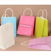 Làm túi giấy quai giấy giá rẻ