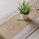 Vải đay cuôn  làm khăn trải bàn 01