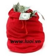 Túi vải đựng quà (túi vải nhiều size)