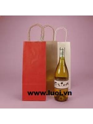 Túi giấy đựng rượu 003