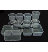 Các loại hộp nhựa PE trong