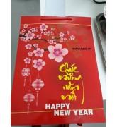 Túi giấy in chúc mừng năm mới 07