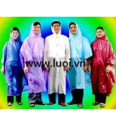 áo mưa cánh dơi 2 màu có kiếng