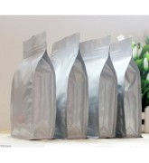 Túi bạc nhôm zipper 8 cạnh