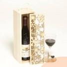Hộp gỗ đựng rượu khắc laser