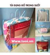 Túi nhựa pvc đựng chăn ga giá rẻ