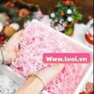 Giấy lót hộp quà màu hồng