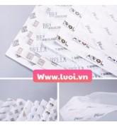 In giấy gói quần áo