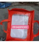 Túi vải 32x42x30 đựng quà tết