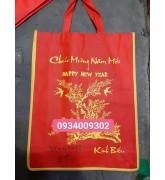 Túi vải đựng quà tết 35x45