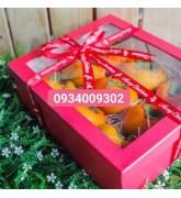 Hộp giấy đựng trái cây quà tặng