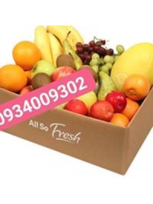 Khay giấy đựng trái cây
