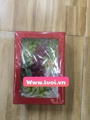Hộp giấy đựng trái cây giá rẻ