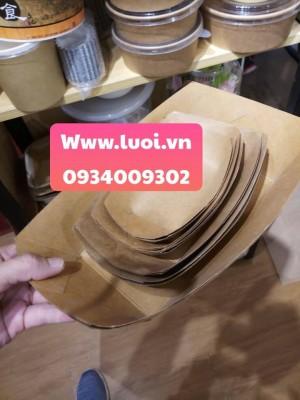 Khay giấy đựng thức ăn giá rẻ