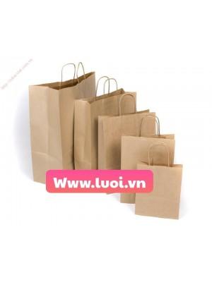 Túi giấy đựng thức ăn giá rẻ