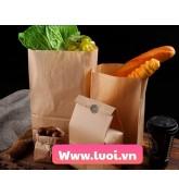 Túi giấy đựng rau giá rẻ