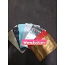 Túi bạc zip khóa nhật 8 cạnh 250g nhiều màu