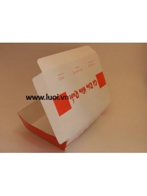 Hộp giấy đựng thức ăn giá rẻ
