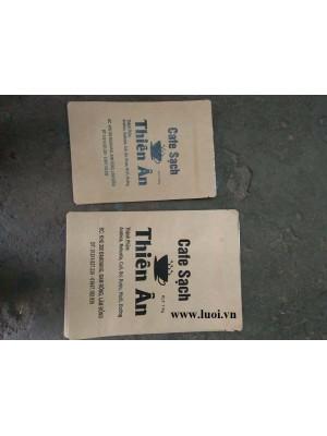 In túi giấy kraft zipper giá rẻ
