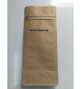 Túi giấy zipper 8cạnh có đóng van