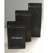 Túi bạc zipper 8cạnh có van xã 02