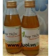 Chai thủy tinh đựng mật ong 180ml