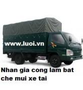 Bạt xe tải (nhận gia công ép bạt)003